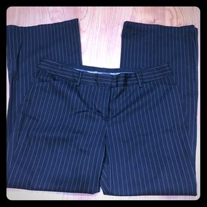 Express Design Pin Striped Editor Style Pant